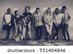 friends people group teamwork... | Shutterstock . vector #551404846