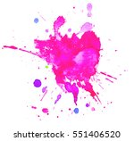 colorful abstract watercolor...   Shutterstock .eps vector #551406520