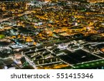 smart city concept  old... | Shutterstock . vector #551415346