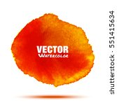 bright red   orange transparent ...   Shutterstock .eps vector #551415634