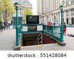 new york   april 29  2016 ... | Shutterstock . vector #551428084