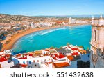 view of the sea from a height... | Shutterstock . vector #551432638