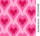 Ethnic Pink Seamless Pattern...