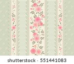 seamless floral background....   Shutterstock .eps vector #551441083