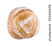 top view homemade bread on a...   Shutterstock . vector #551442658
