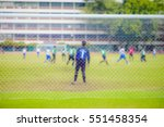 soccer football match blur for... | Shutterstock . vector #551458354