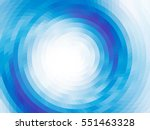 abstract composition   round on ... | Shutterstock .eps vector #551463328