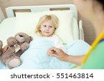 making her comfortable....   Shutterstock . vector #551463814