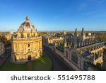 Aerial View Of The Oxford...