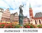 Old Town Square Romerberg With...