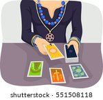 illustration of a woman wearing ... | Shutterstock .eps vector #551508118