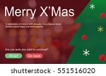 merry christmas big sale | Shutterstock . vector #551516020