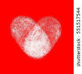 valentine's day background...   Shutterstock . vector #551517544