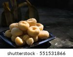 Donuts Sugar Sweet Pieces Of...
