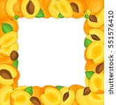 square colored frame composed... | Shutterstock . vector #551576410