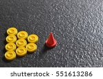 leadership concept explain... | Shutterstock . vector #551613286