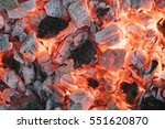 Hot Coals Background