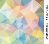 abstract polygonal background.... | Shutterstock . vector #551649568