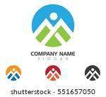 m letter business corporate... | Shutterstock .eps vector #551657050