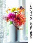 autumn bouquet | Shutterstock . vector #551664124