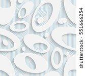 seamless beautiful ellipse... | Shutterstock .eps vector #551666254