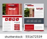 abstract flyer design... | Shutterstock .eps vector #551672539