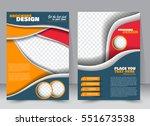 abstract flyer design... | Shutterstock .eps vector #551673538