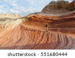 vermilion cliffs national... | Shutterstock . vector #551680444