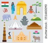 india set asia country vector... | Shutterstock .eps vector #551683090
