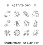 vector line icon set for...   Shutterstock .eps vector #551684449