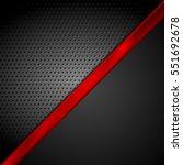 dark red tech contrast abstract ... | Shutterstock .eps vector #551692678
