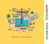 application development flat...