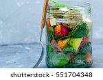 Vegan Salad In A Jar  Spinach ...