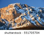 rax massif in eastern alps at... | Shutterstock . vector #551705704