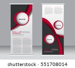 roll up banner stand template.... | Shutterstock .eps vector #551708014