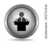 speaker icon  black website... | Shutterstock . vector #551711416