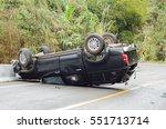 Car Overturned