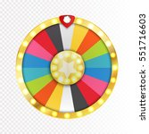Colorful Wheel Of Luck Or...