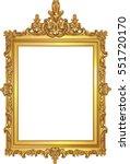 Golden Decor Mirror Frame....