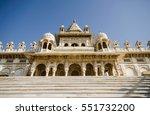 jaswant thada mausoleum in... | Shutterstock . vector #551732200