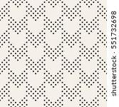 vector seamless pattern. modern ... | Shutterstock .eps vector #551732698
