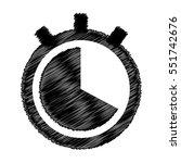 clock vector icon   Shutterstock .eps vector #551742676