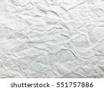 white creased paper texture for ... | Shutterstock . vector #551757886