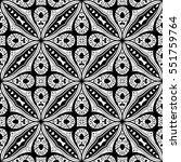 seamless pattern design.... | Shutterstock .eps vector #551759764