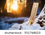 thermometer with low... | Shutterstock . vector #551768023