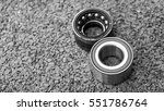 car suspension and car bearing... | Shutterstock . vector #551786764