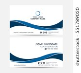 business card vector background | Shutterstock .eps vector #551789020