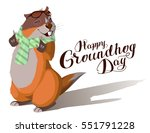 Happy Groundhog Day. Marmot...