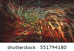 colorful dynamic abstract free... | Shutterstock .eps vector #551794180