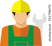icon people industry | Shutterstock .eps vector #551798470